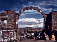 Grenze Bolivien, Peru 2004